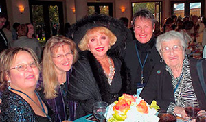 NASW California Chapter members with actress Ruta Lee