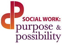 Social Work: Purpose and Possibility (logo)