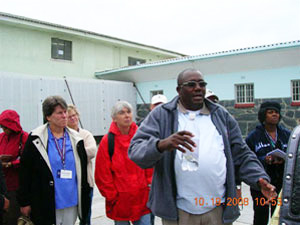 Delegates made several site visits while in South Africa