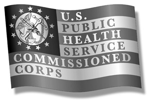 Flag: U.S. Public Health Service Commissioned Corps