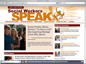 Social Workers Speak! homepage image