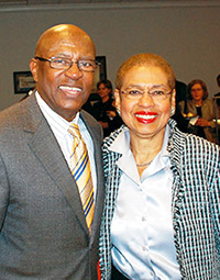 "Edolphus ""Ed"" Towns and Eleanor Holmes Norton"
