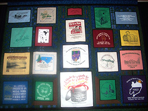 The Rural Social Work Caucus quilt