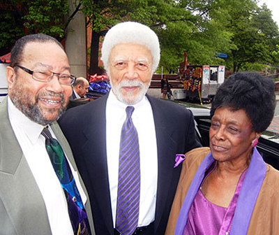 Ronald Dellums, Charles Howard, and Bernice Catherine Harper