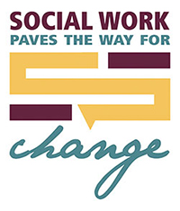 Logo: Social work paves the way for change
