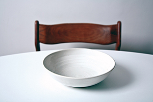 empty bowl on a table