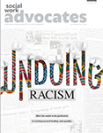 magazine cover with headline: Undoing Racism