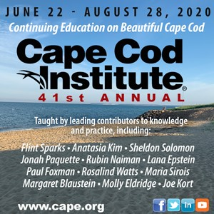 41st annual 2020 Cape Cod Institute - Continuing education - June 22 to August 28, 2020 - on beautiful Cape Cod