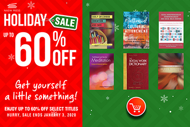 holiday sale, up to 60 percent off, thumbnails of book covers