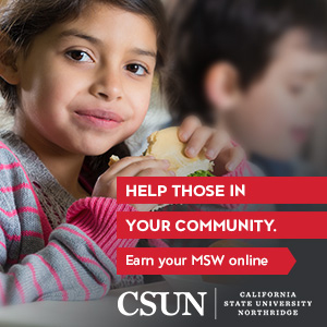 CSUN - Help those in your community. Earn your MSW online