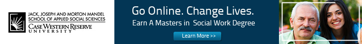 Case Western Reserve University: Go online. Change lives. Earn a master's in social work degree