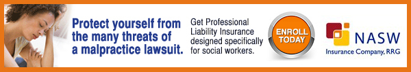 Protect yourself from the many threats of a malpractice lawsuit. Get professional liability insurance designed specifically for social workers. Enroll today. NASW Insurance Company RRG
