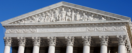 frieze on Supreme Court house