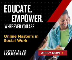 Educate. Empower. Wherever you are. Online master's in social work. University of Louisville. Apply now.