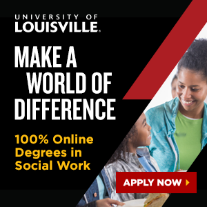 University of Louisville. Make a world of difference. 100 percent online degrees in social work. Apply now.