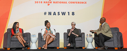 panelists at NASW national conference