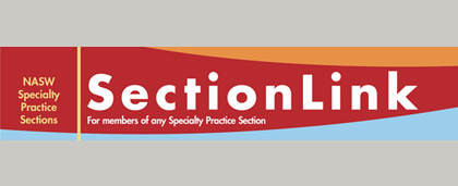 cover of SectionLink newsletter