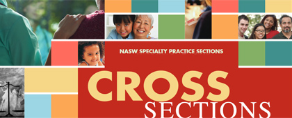 masthead of CrossSections newsletter