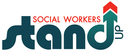 Social Workers Stand Up logo