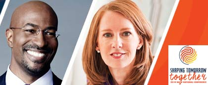 Van Jones, Gretchen Rubin, Shaping Tomorrow Together