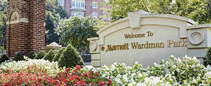 Marriott Wardman Park hotel entrance