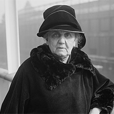 social work pioneer Jane Addams - Library of Congress