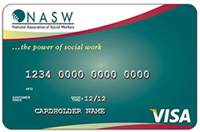 NASW Visa credit card