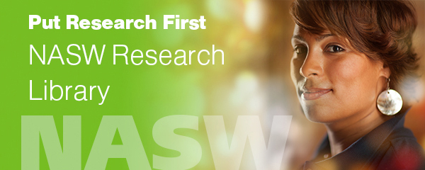 Put research first: NASW research library