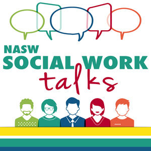 NASW Social Work Talks logo