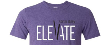social work month Elevate t-shirt