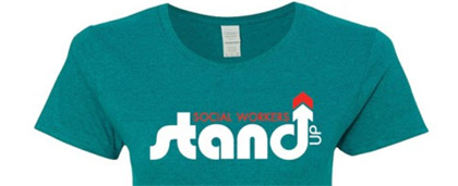 various Social Work Month merchandise