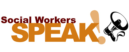 Social Workers Speak logo