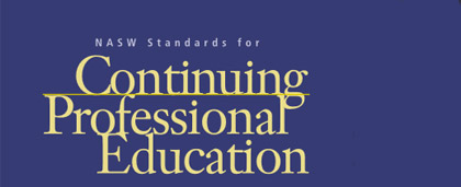 NASW Standards for Continuing Professional Education