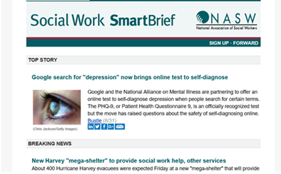 Social Work SmartBrief screenshot