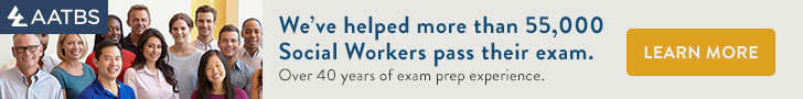 AATBS: We've helped more than 55,000 social workers pass their exam. Over 40 years of exam prep experience.